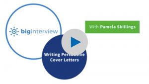 Writing Persuasive Cover Letters 1 Video
